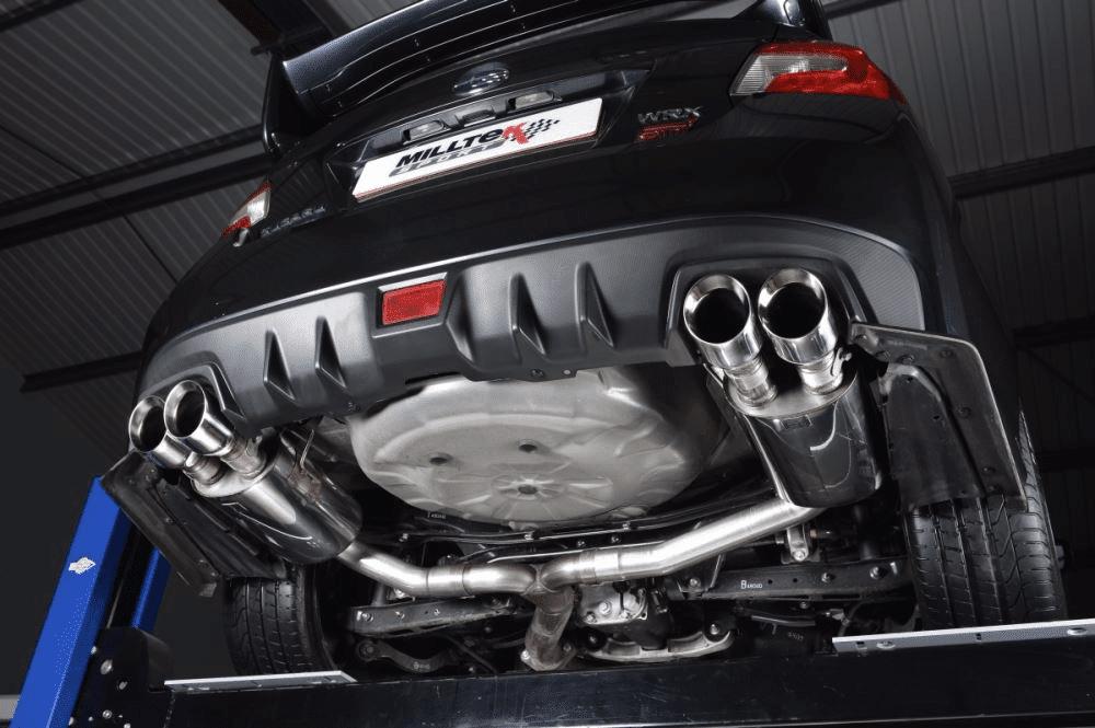 Milltek Catback Exhaust System Subaru WRX