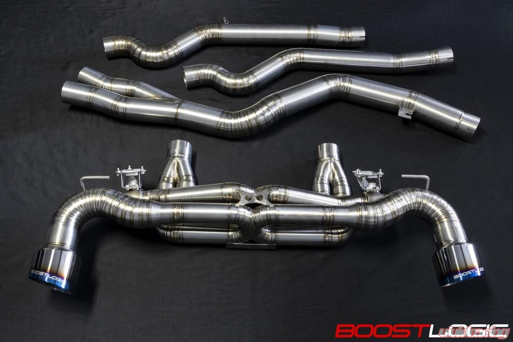 Boost Logic A90 Supra Exhaust