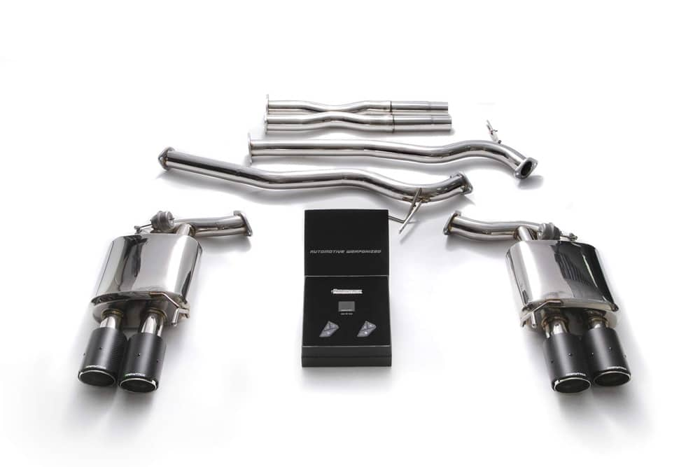 mustang gt exhaust armytrix