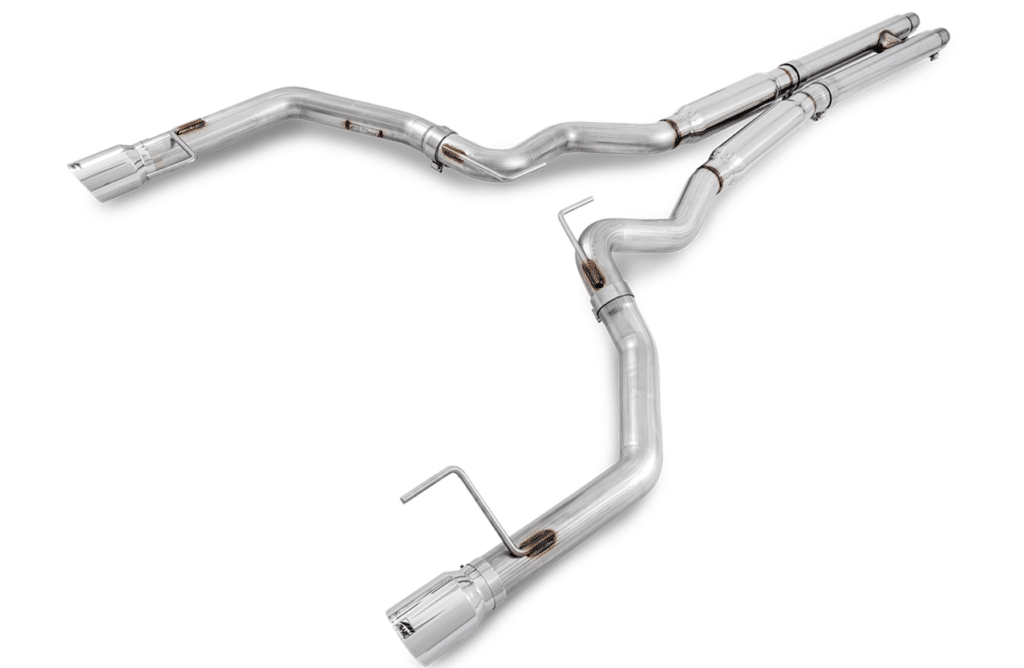 AWE tuning mustang gt exhaust system